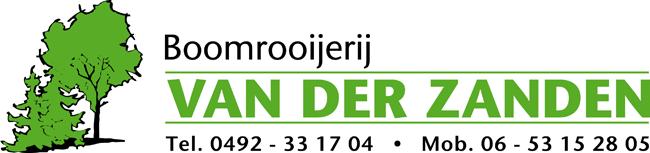 Logo Boomrooijerij van der Zanden